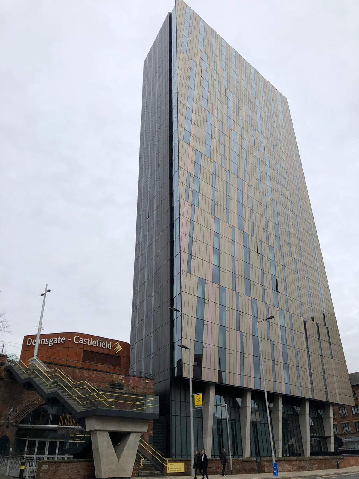 One Bed Apartment at Iconic Axis Tower Manchester City Centre M1
